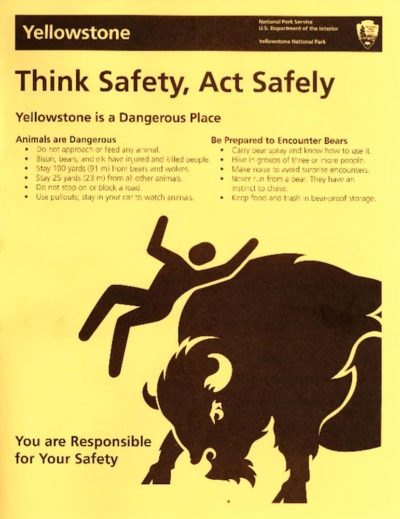Yellowstone Safety
